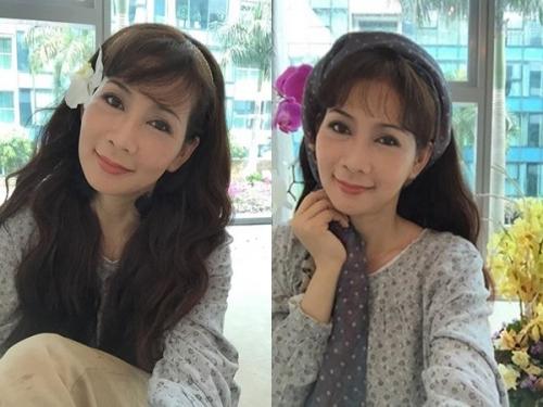 Diễm Hương khoe nét đẹp thanh xuân tuổi U50 - 3