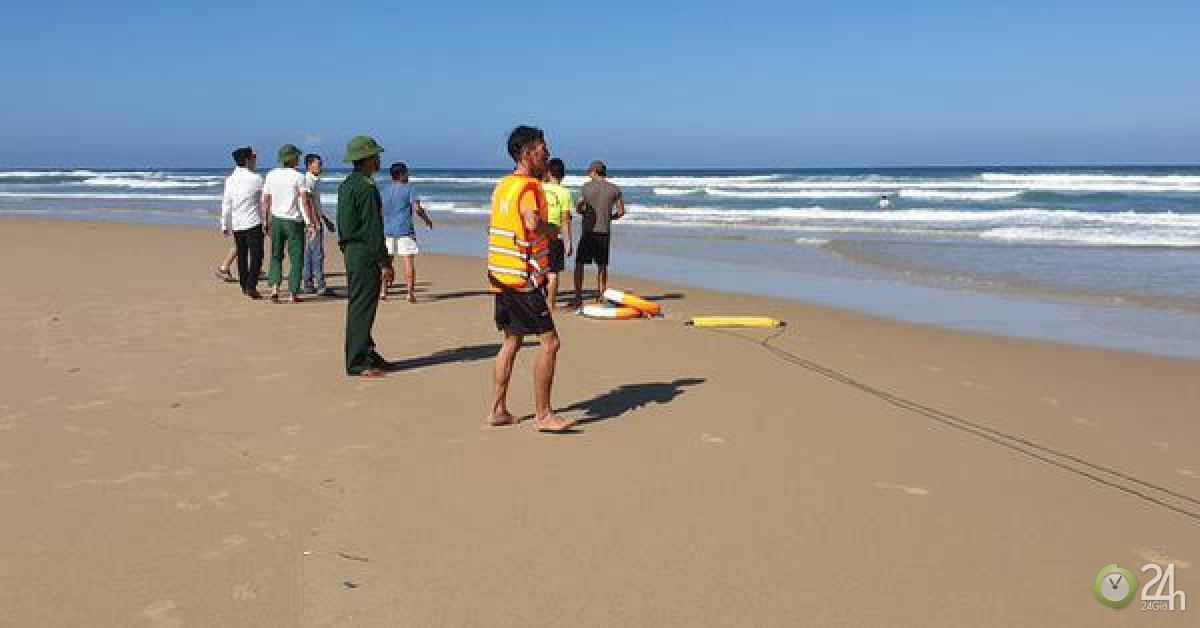 Thi thể du khách mất tích ở biển Tam Thanh trôi xa 1,5 km - Tin tức 24h