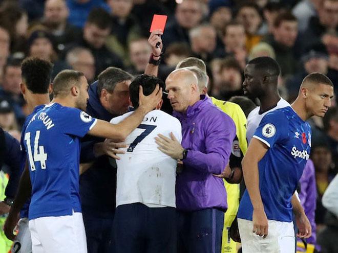 """Son Heung Min 1 năm """"ăn"""" 3 thẻ đỏ: Cái đầu quá """"nóng"""", Jose Mourinho nói gì? - 2"""