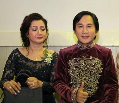 """Nhan sắc hai cô vợ đầu kín tiếng của """"ông vua cải lương"""" Kim Tử Long - 1"""