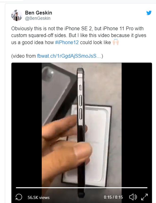 """iPhone SE 2 lại tiếp tục """"làm nóng"""" thị trường - 1"""