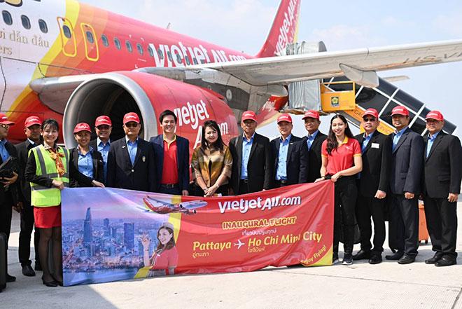 Vietjet khai trương đường bay Tp. HCM – Pattaya, khuyến mãi vé 0 đồng từ nay đến 31/12/2019 - 2