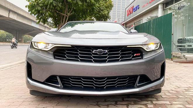 Chevrolet Camaro mui trần thế hệ mới xuất hiện tại Việt Nam - 1