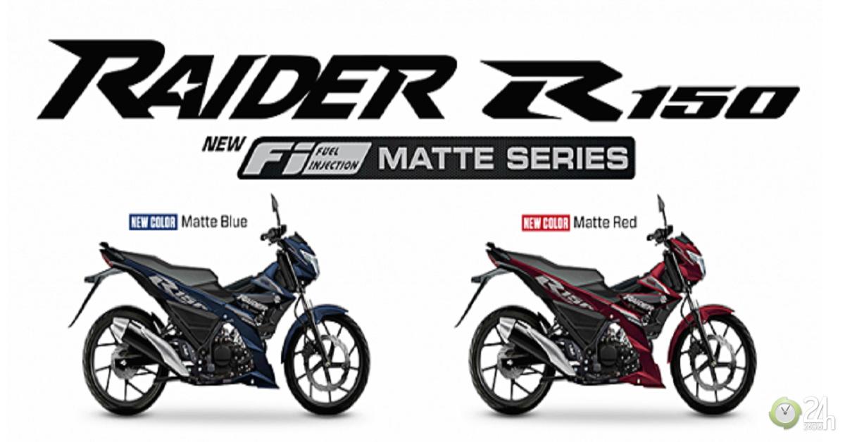 """Suzuki Raider R150 hoàn toàn mới về Đông Nam Á, thêm tùy chọn """"màu áo"""" mới"""