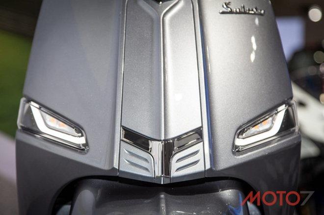 """Suzuki Saluto 125 ra mắt xe tay ga mới, giống Vespa """"không hề nhẹ"""" - 6"""