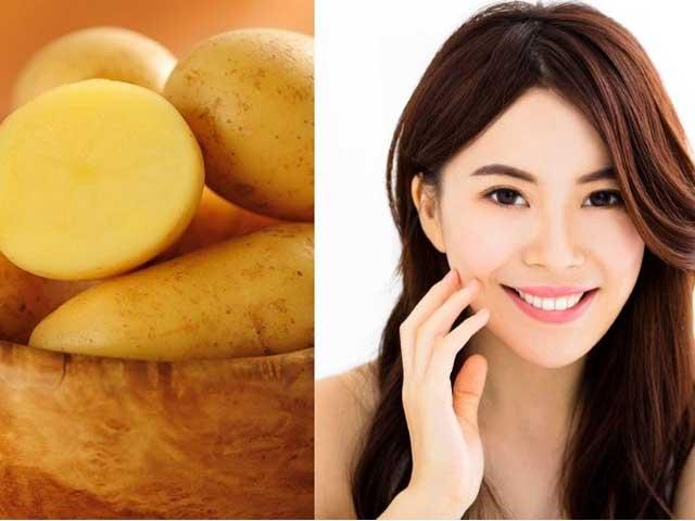 Tự làm kem khoai tây dưỡng da sáng mịn - 1