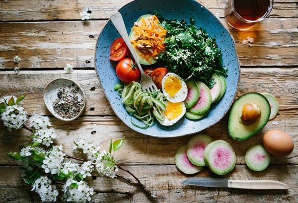 Thực hư chuyện giảm cân bằng ăn chay - 1