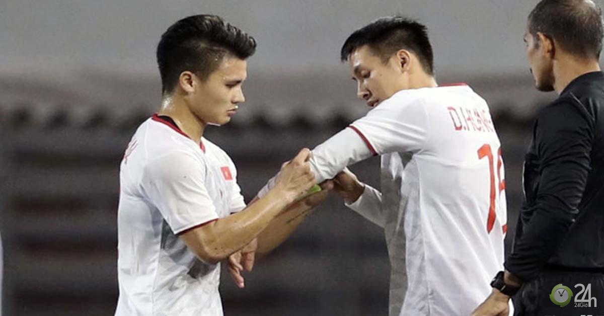 """Đỉnh cao bóng đá Việt Nam: Quang Hải & 5 """"cận vệ"""" của thầy Park là ai?-Bóng đá 24h"""