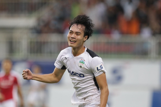 Nong Bỏng Bảng Xếp Hạng V League Hagl đội Cong Phượng đua Vo địch Với Ha Nội