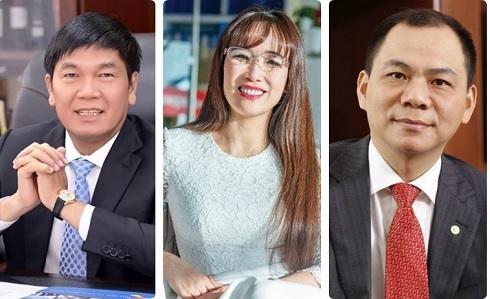 """Tài sản của tỷ phú Việt """"nhảy số"""" nghìn tỷ đồng ngay ngày đầu tháng - 4"""