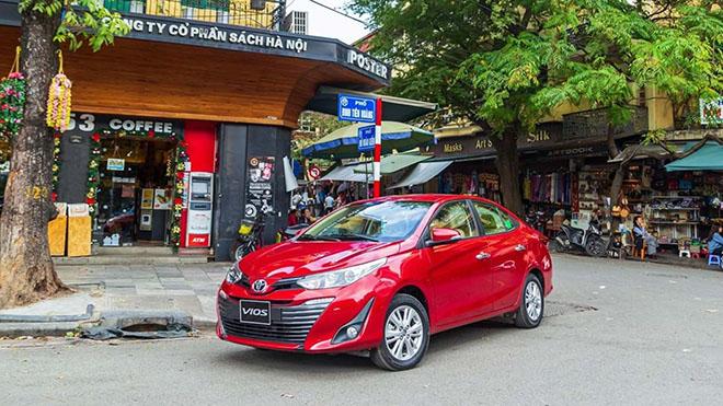 Giá xe Toyota Vios lăn bánh tháng 10/2020 - 2