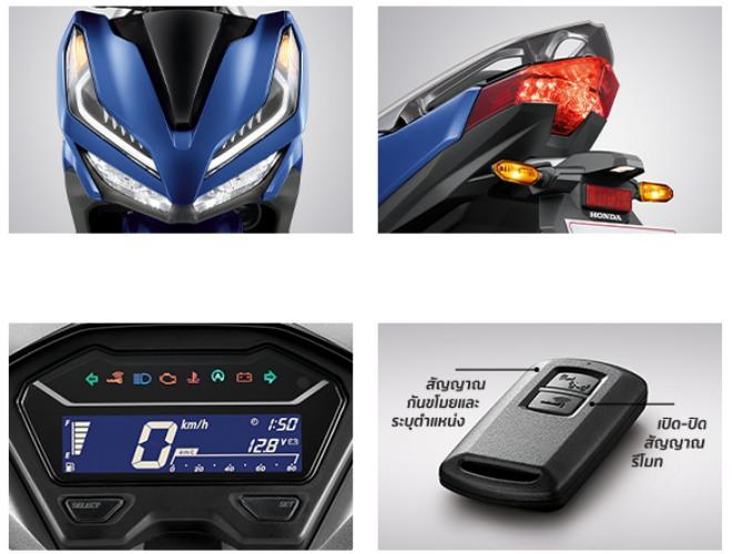 Đánh giá chi tiết 2021 Honda Click giá từ 37,86 triệu đồng - 3