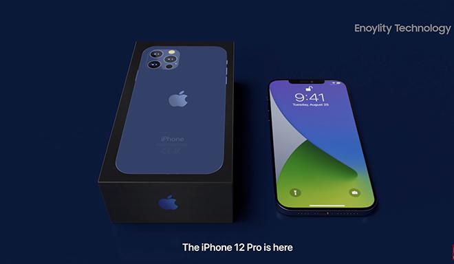 iFan choáng váng với video trailer đập hộp iPhone 12 Pro giả - 1