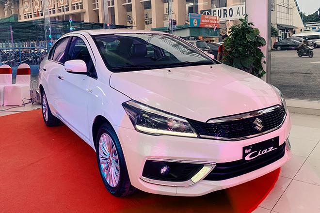 Suzuki Ciaz 2020 vừa ra mắt đã được giảm giá