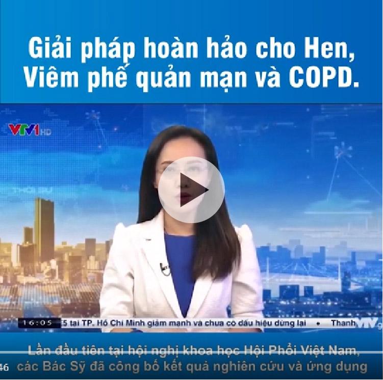 VTV1, HTV7 đưa tin: Hoa Kỳ công nhận giải pháp kiểm soát đờm, ho, khó thở thành công của Việt Nam - 1