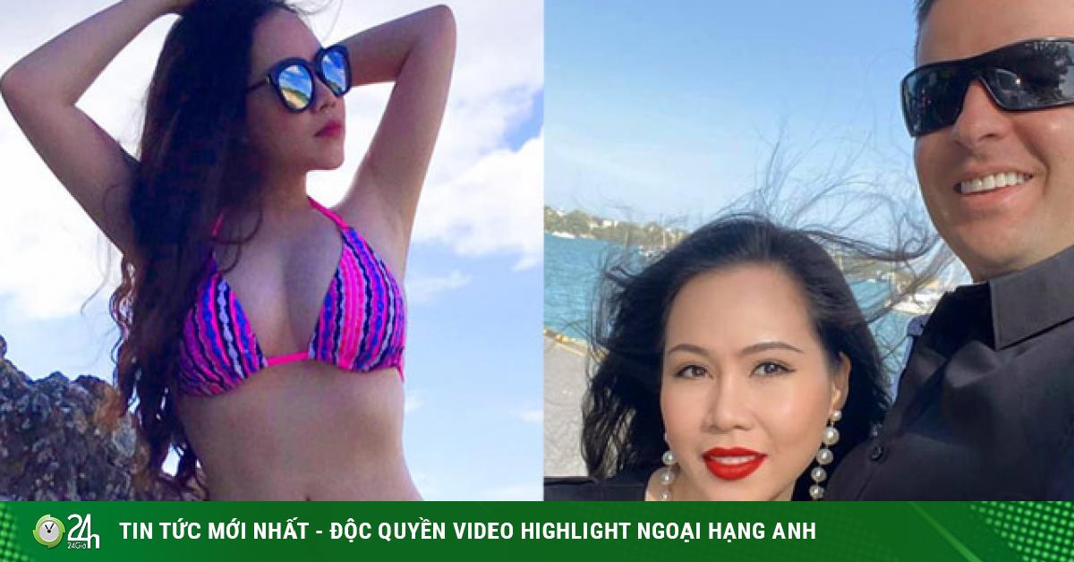 Thực hư việc Bà Tưng màn ảnh Việt kết hôn bạn trai Tây cao gần 2m