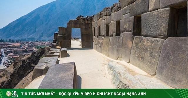 Khám phá bí mật tàn tích cổ của người Inca