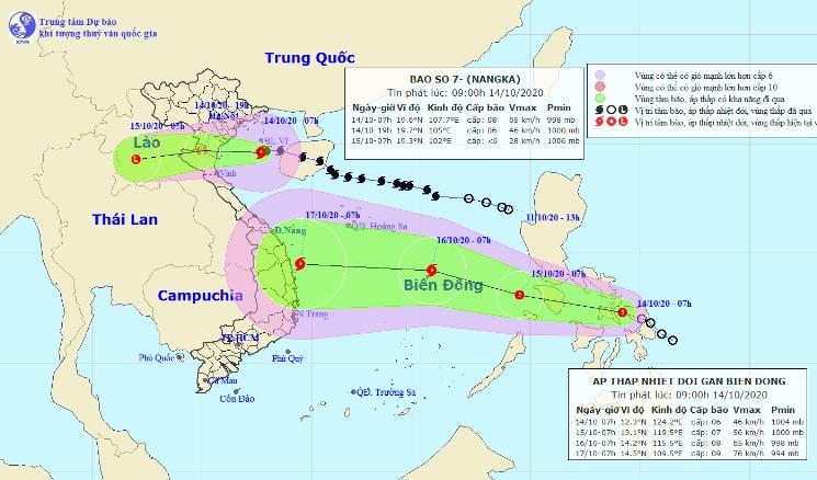 Bão số 7 áp sát đất liền Thái Bình – Nghệ An, nhiều tỉnh cấm biển - 1