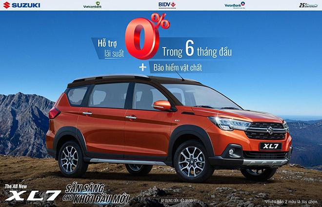 """Doanh số tăng trưởng mạnh, Suzuki tung """"chiêu đãi"""" lớn cho tất cả dòng xe - 1"""