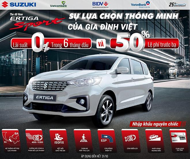 """Doanh số tăng trưởng mạnh, Suzuki tung """"chiêu đãi"""" lớn cho tất cả dòng xe - 3"""