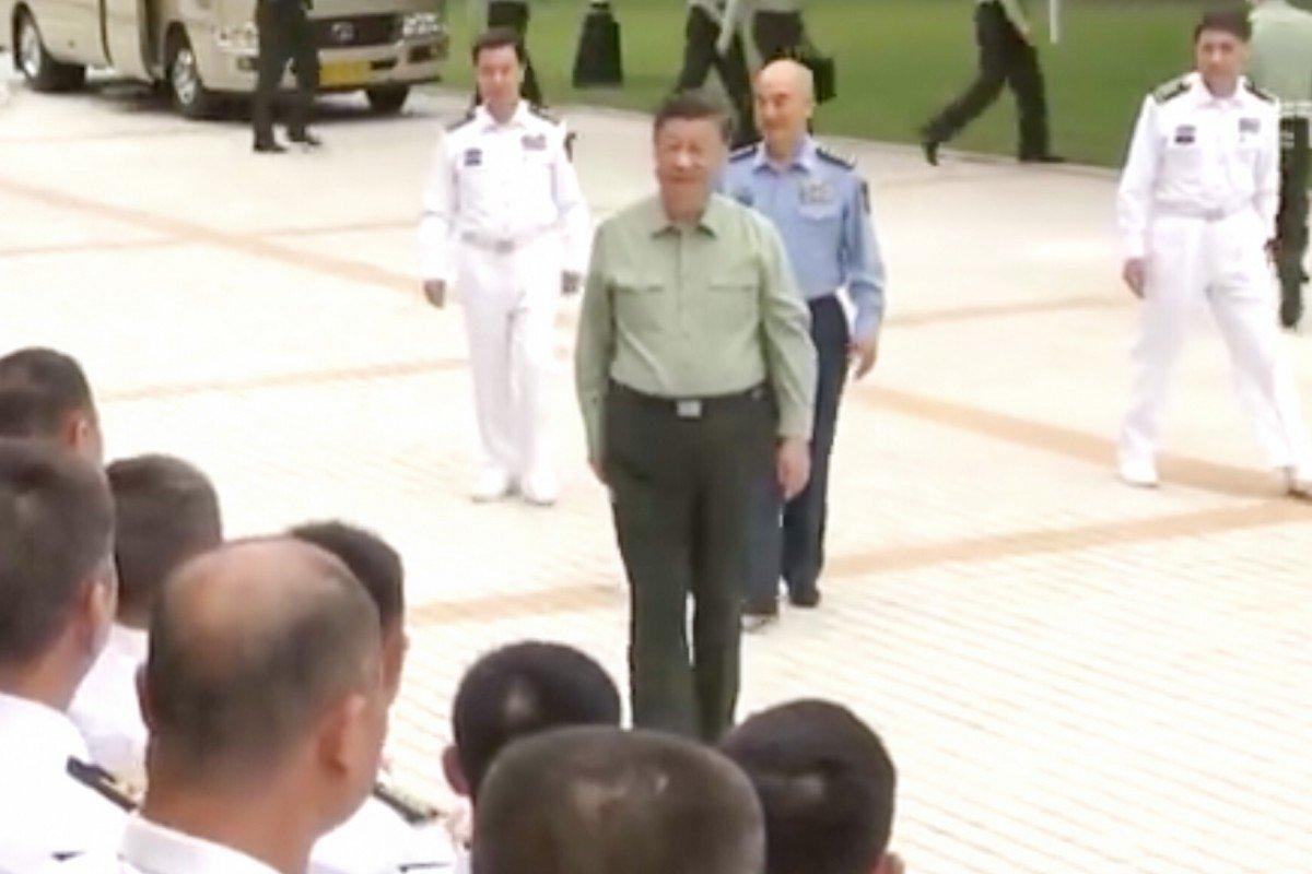 Ông Tập yêu cầu thủy quân lục chiến TQ sẵn sàng cho chiến tranh