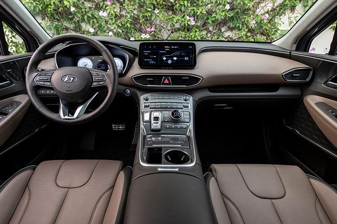 Hyundai SantaFe phiên bản nâng cấp có 4 tùy chọn động cơ tại Mỹ - 8