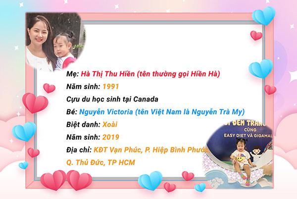 """Con sinh non bé như """"viên kẹo"""", đây là cách mẹ Việt từng sống tại Canada giúp con tăng cân, cao vượt chuẩn - 1"""