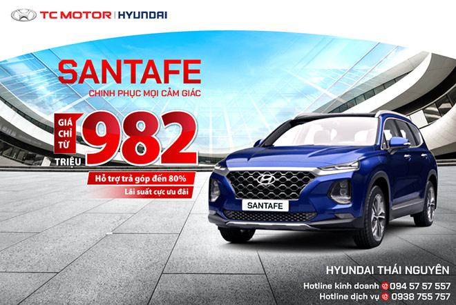 Hyundai Santafe chinh phục mọi cảm giác – giá chỉ từ 982 triệu đồng - 1
