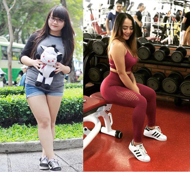 Người đẹp tập gym Long Gia Hân có vòng ba 105cm nhờ bị bạn trai…chia tay - 1