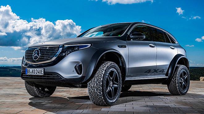 Mercedes-Benz EQX 4×4 sử dụng động cơ điện có thêm biến thể Offroad mới