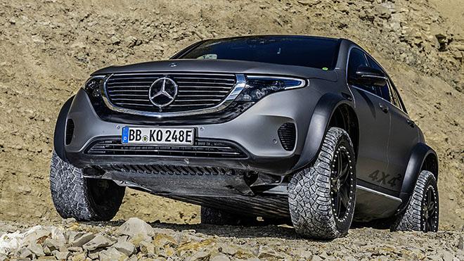 Mercedes-Benz EQX 4x4 sử dụng động cơ điện có thêm biến thể Offroad mới - 2