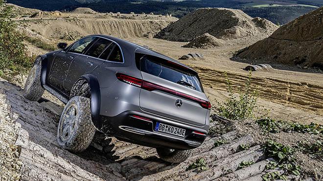 Mercedes-Benz EQX 4x4 sử dụng động cơ điện có thêm biến thể Offroad mới - 3