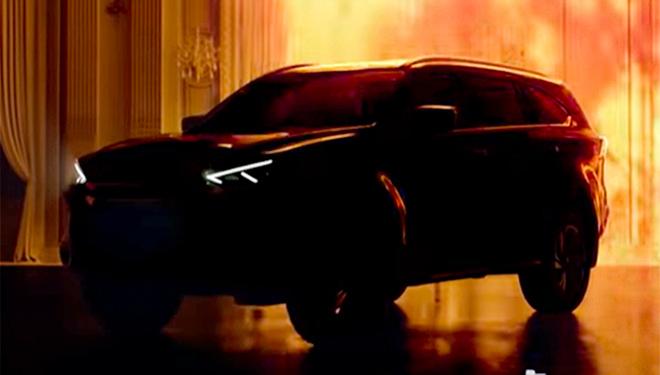 Xe SUV Isuzu mu-X thế hệ mới lộ thêm ảnh trước ngày ra mắt