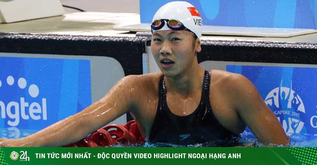 Hài hước: Ánh Viên về đích vẫn bơi tiếp khiến đối thủ đuổi theo