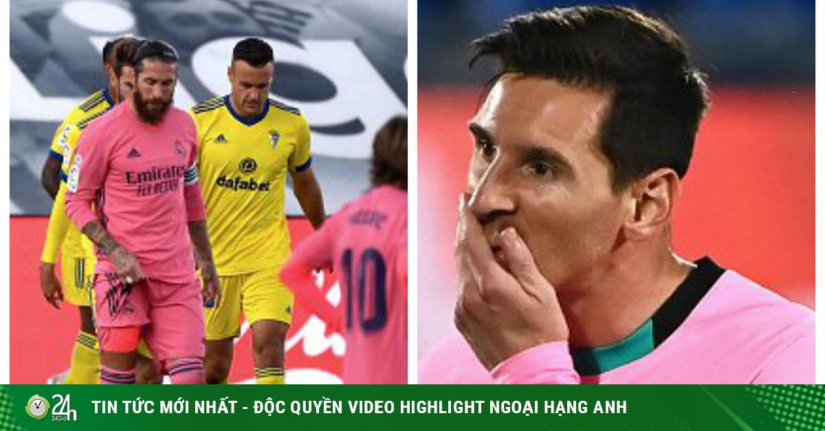 Choáng Real, Barca đều thua trước Siêu kinh điển: Ác mộng 17 năm tái hiện