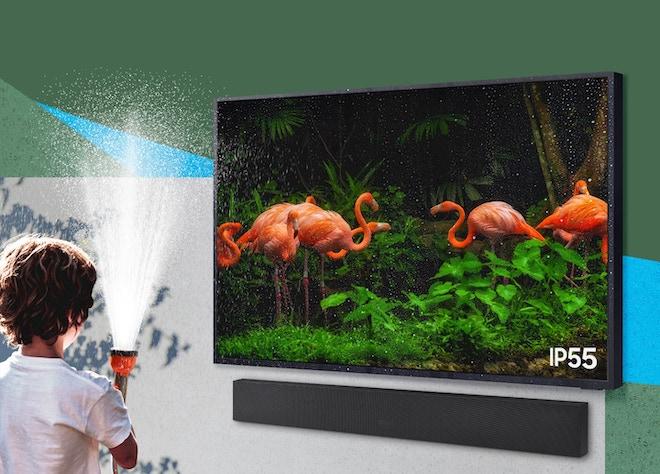 Samsung công bố TV siêu sáng 2.000 nits, kháng bụi và nước chuẩn IP55 - 1