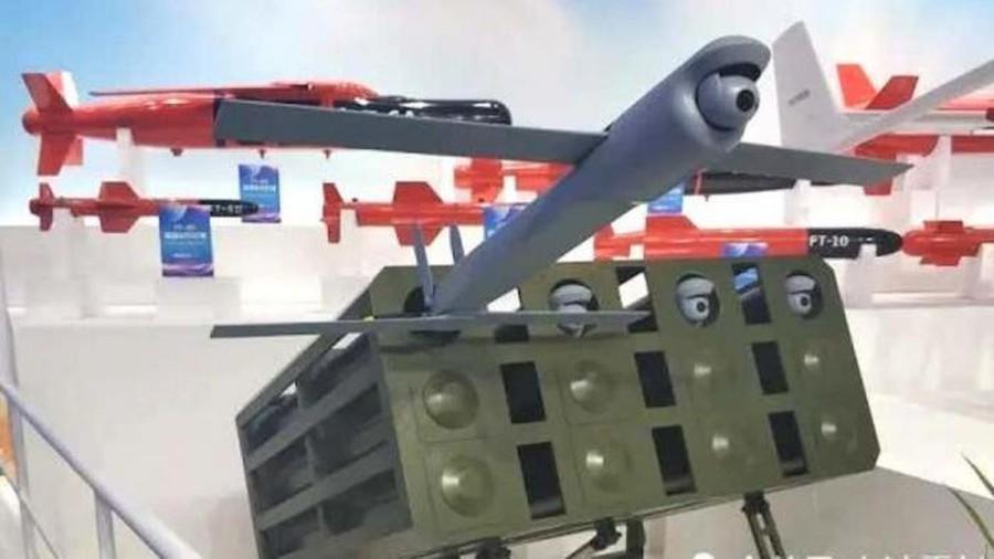 Máy bay tấn công tự sát kiểu bầy đàn của TQ: Muốn nhắm vào ai?