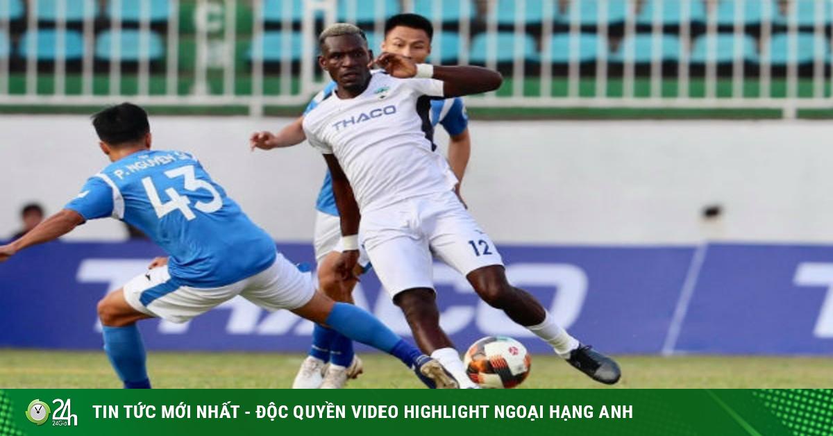 Trực tiếp bóng đá Quảng Ninh - HAGL: Đội khách vào hiểm địa