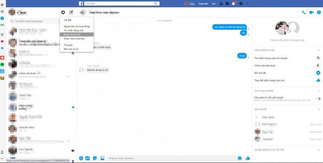 Mách bạn cách lấy lại tin nhắn đã xóa trên Facebook - 4