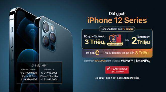 """Dạo một vòng khám phá giá iPhone 12 tại Việt Nam trước ngày """"lên kệ"""" - 1"""
