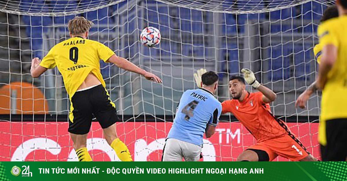 Kết quả bóng đá Cúp C1 Lazio - Dortmund: Haaland lập công, người cũ trừng phạt