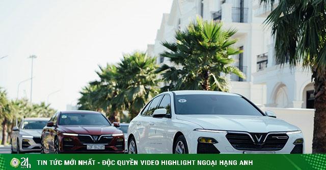 VinFast Lux A2.0 tiếp tục vượt mặt Toyota Camry, dẫn...