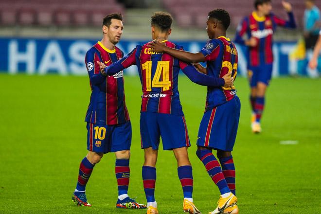 """Messi chói sáng, Barca đi vào lịch sử Cúp C1 nhờ """"măng non"""" - 1"""