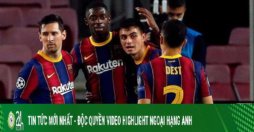 Messi chói sáng, Barca đi vào lịch sử Cúp C1 nhờ măng non