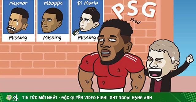 Ảnh chế: Fan hả hê khi MU đè bẹp PSG ngay trận mở màn cúp C1