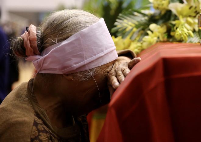 Hình ảnh trực tiếp lễ viếng, truy điệu 22 cán bộ, chiến sĩ bị vùi lấp ở Quảng Trị - 2