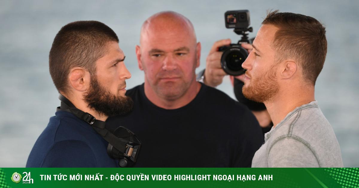 So tài đút túi tiền tấn ở UFC: Khabib quyết hạ Gaethje 100 lần