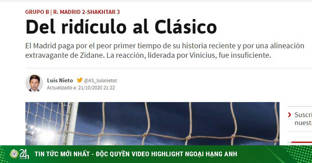 Real Madrid thua chấn động: Báo TBN chê hiệp 1 tệ nhất trong lịch sử