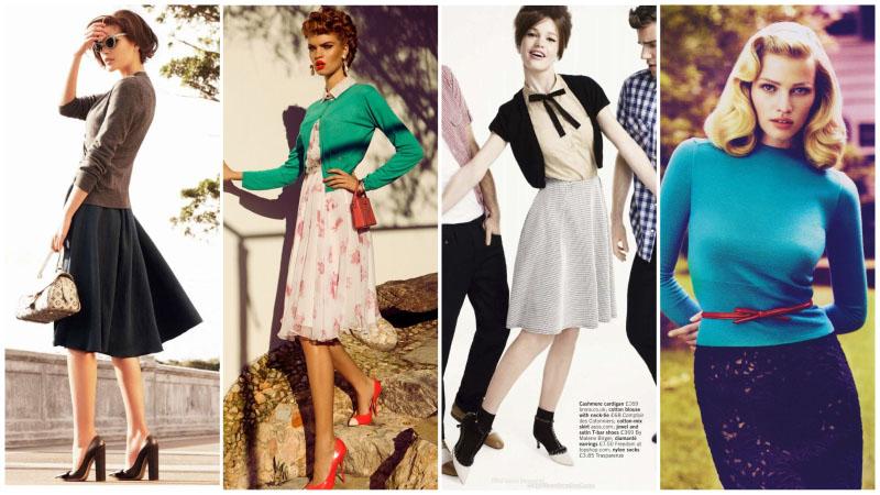 Bí quyết tạo phong cách cổ điển thập niên 50 cho phụ nữ hiện đại - 5