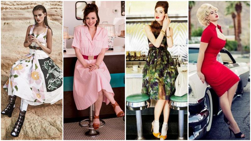 Bí quyết tạo phong cách cổ điển thập niên 50 cho phụ nữ hiện đại - 1
